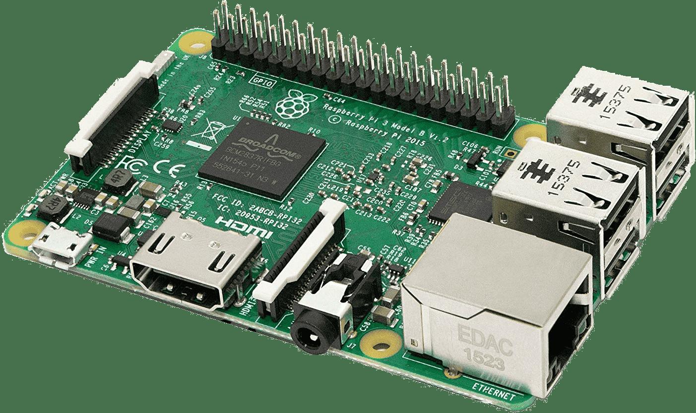 RaspberryPi model 3.